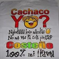 Estampado en Camiseta Soy Costeño, Aja y Que