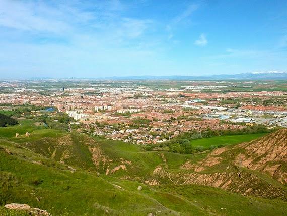 Alcalá de Henares desde los Cerros