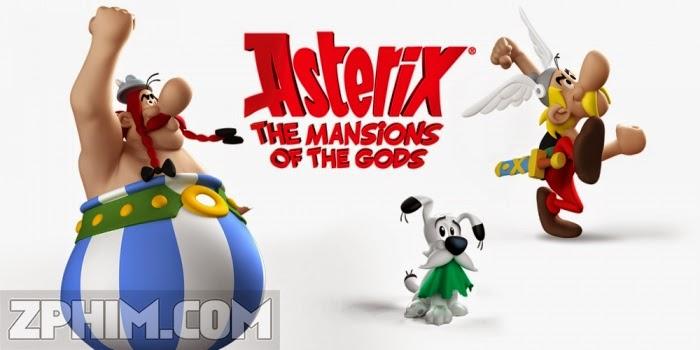 Ảnh trong phim Asterix: Vùng Đất Thần Thánh - Asterix: The Mansions of the Gods 1