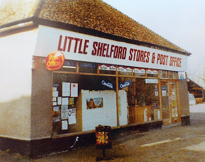 Walkers stores and post office, Whittlesford Road, Little Shelford