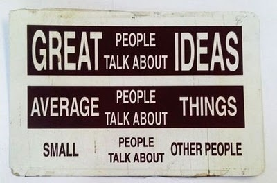 Great VS Average VS Small People