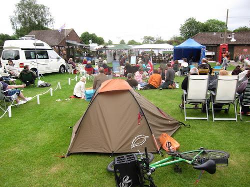 Morn Hill Caravan Club Site at Morn Hill Caravan Club Site