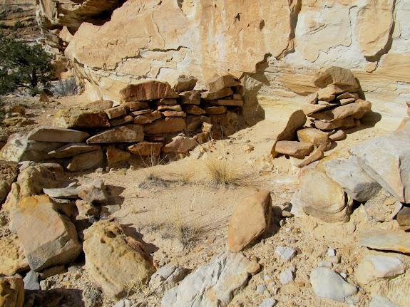 Old rock wall in Still Fork