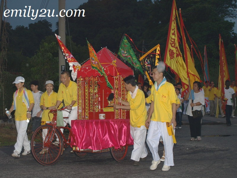 Huat Tian Keong Temple Deity Street Procession