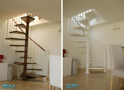 Forum verniciare scala a chiocciola in legno fatto foto risultato - Verniciare una porta in legno ...