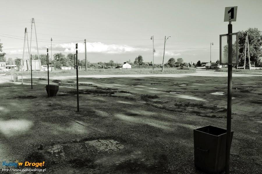 Pińczów nad Nidą - opuszczony dworzec PKS