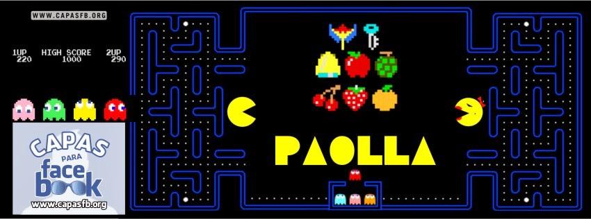 Capas para Facebook Paolla