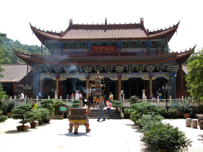 Bamboo Monastery, Kunming
