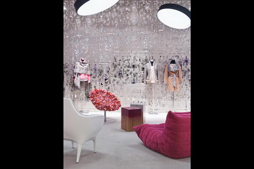 Basler Showroom Fashion Store Design, fashion store, fashion store design, interior design, interior, store design