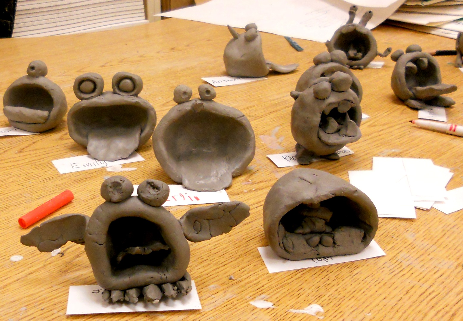 animal clay projects - photo #29