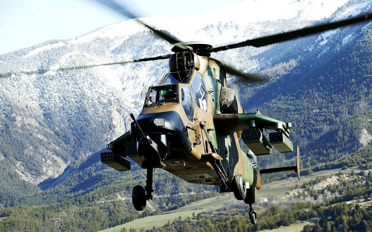 Eurocopter Tiger EC 665 Helicopter Wallpaper 2