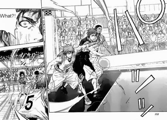 Kuroko no Basket Manga Chapter 238 - Image 16-17