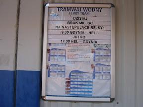 tablica ogłoszeń przy kasie