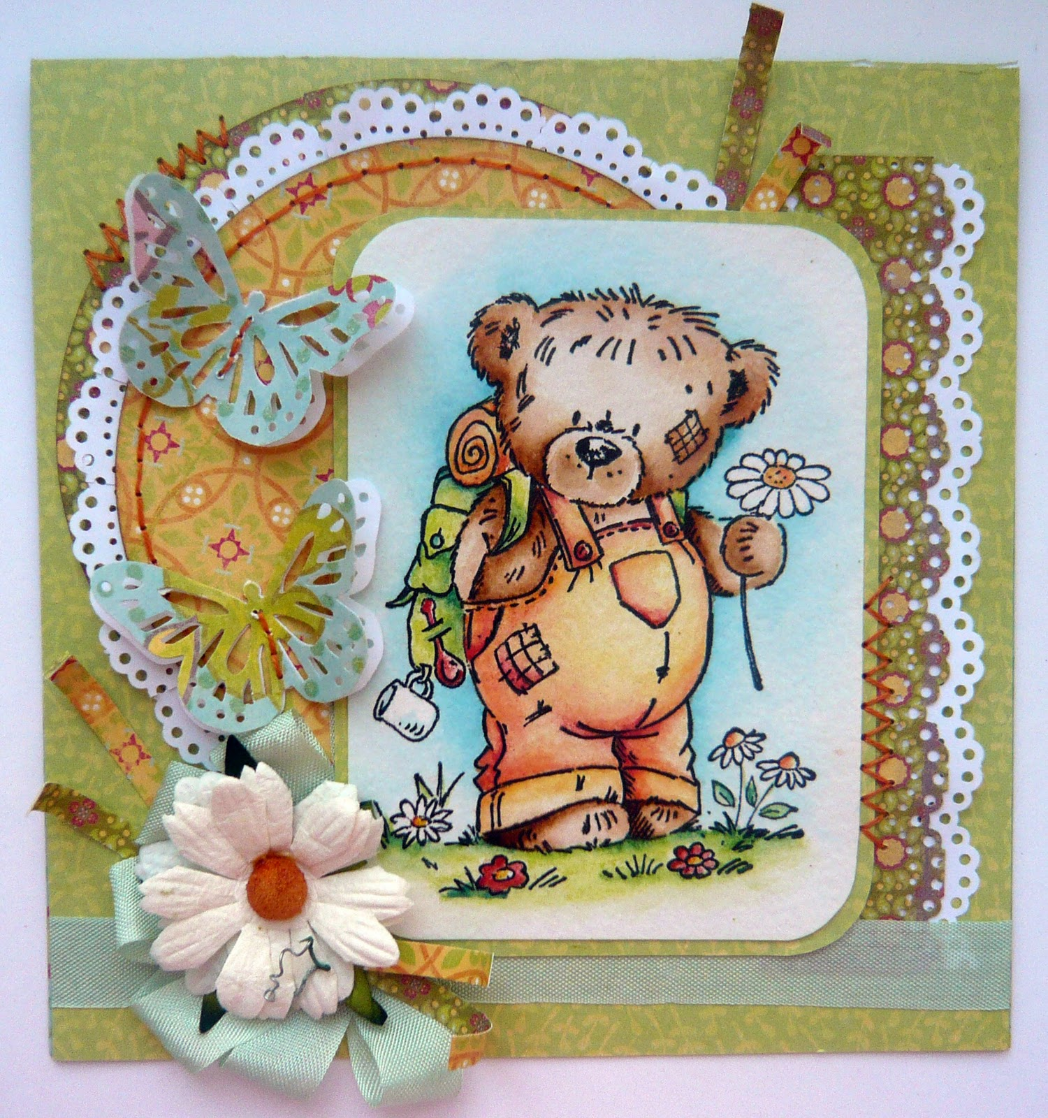Мишутке открытка