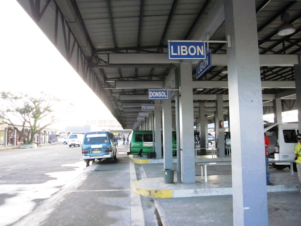 how to go to masbate from legazpi