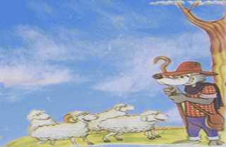El lobo disfrazado de pastor