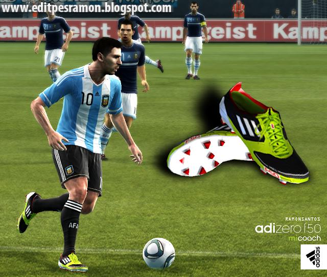 Chuteira Adidas adiZero miCoach - PES 2012