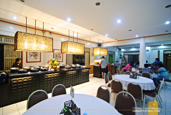 Simple Interiors at Waway's Restaurant in Legazpi City