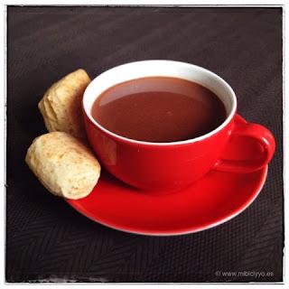 Merienda, Scones y Chocolate