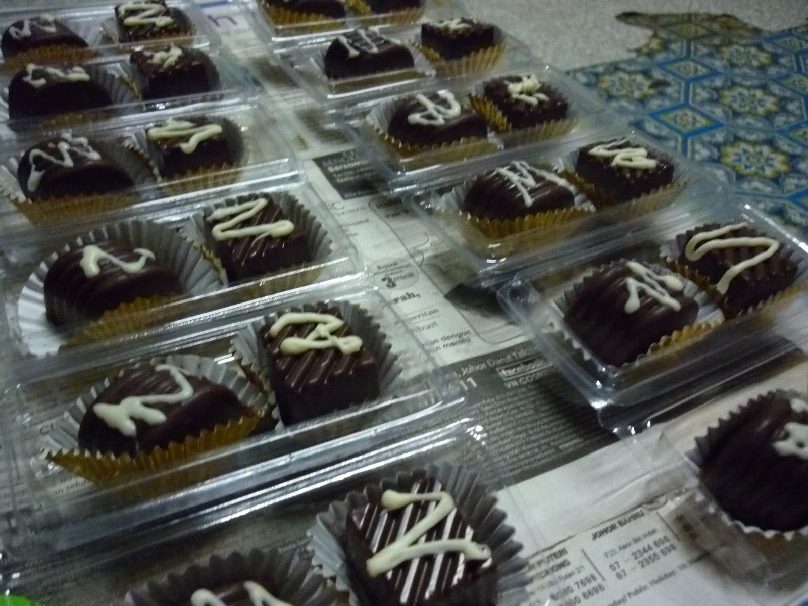 Amalia 39 s chocolate n cupcake blog tempah doorgift kahwin for Idea door gift kahwin murah
