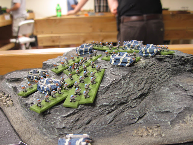 Cameron's Steel Legion playing King of the Hill