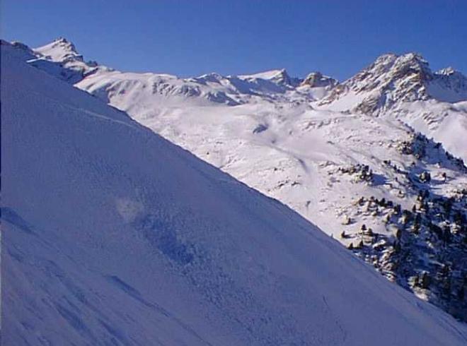 Avalanche Mont Thabor, secteur Petit Argentier, Comde du jeu - Photo 1 - © Duclos Alain