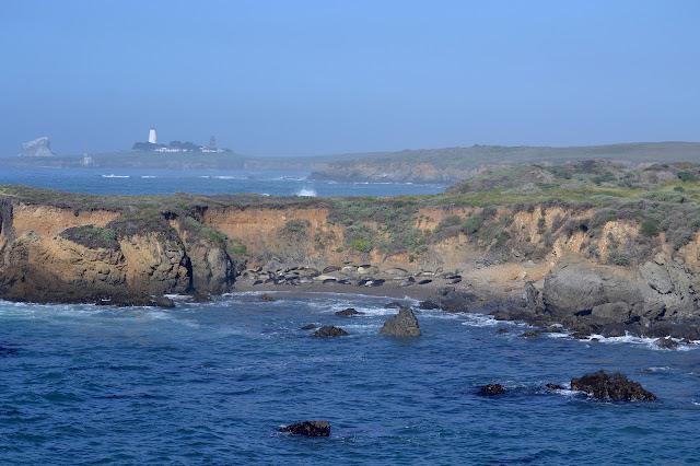 lighthouse on a point