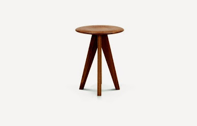 1960 Fonteyn Stool by Steuart Padwick on Little House Lovely