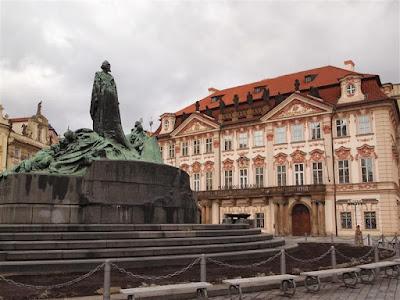 Memorial a Jan Hus (1915) en Praga