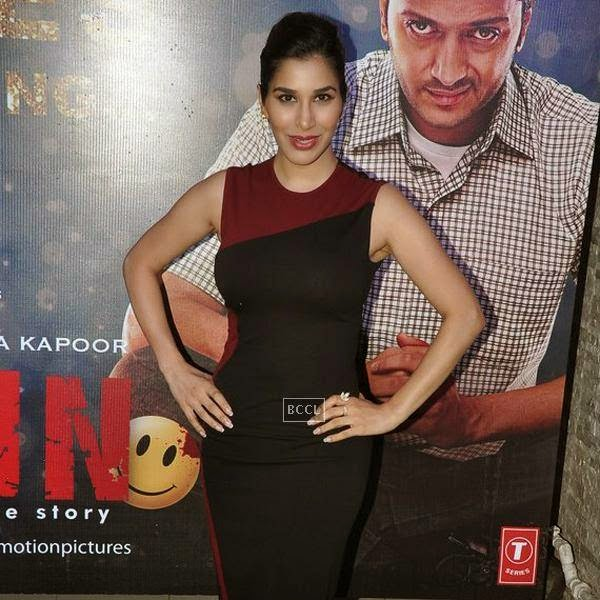 Sophie Choudry during the success party of Bollywood movie 'Ek Villain', held at Ekta Kapoor's residence on July 15, 2014.(Pic: Viral Bhayani)
