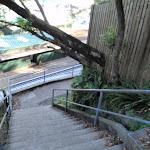 Steps looking down to Mosman Wharf (257921)