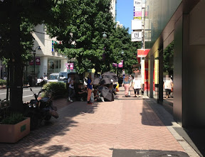 Apple Store渋谷 2013年9月20日午前10時