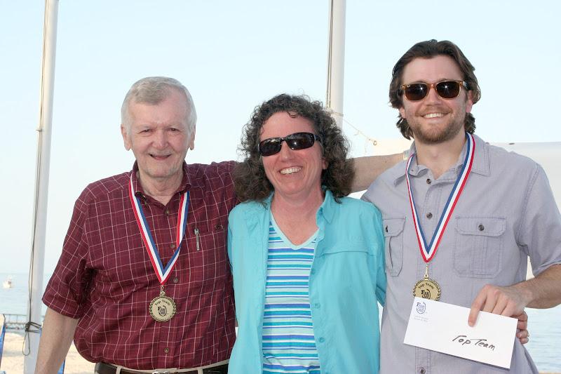 Dan Neidlinger of Phoenix, Arizona and Dallas Powell of LaPorte, Iowa