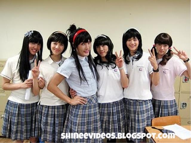 designer fashion 0a75b 42053 SHINee videos: School of rock eng [FULL] complete