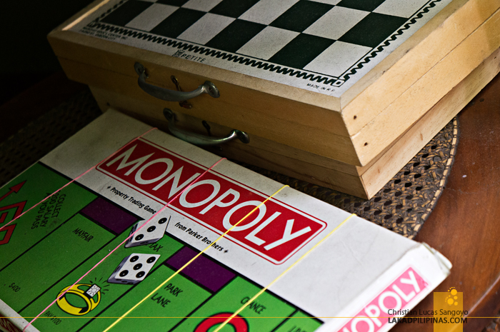 Board Games at Tagaytay's D-Zone Backpacker's Inn