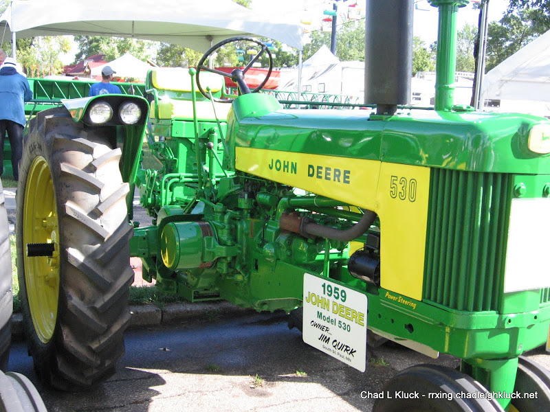 1959 John Deere Model 530 - Owner Jim Quirk (Photo from 2010)