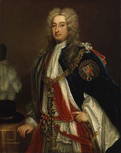Godfrey Kneller - Charles Townshend, 2nd Viscount Townshend