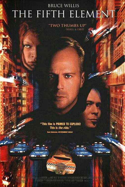 Poster Of The Fifth Element (1997) Full Movie Hindi Dubbed Free Download Watch Online At Alldownloads4u.Com