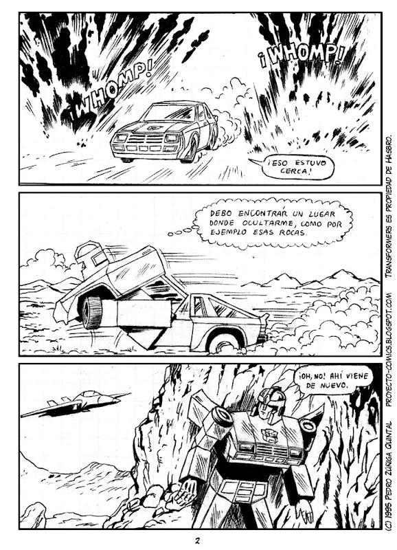 Proyecto Comics - Como caído del Cielo 02
