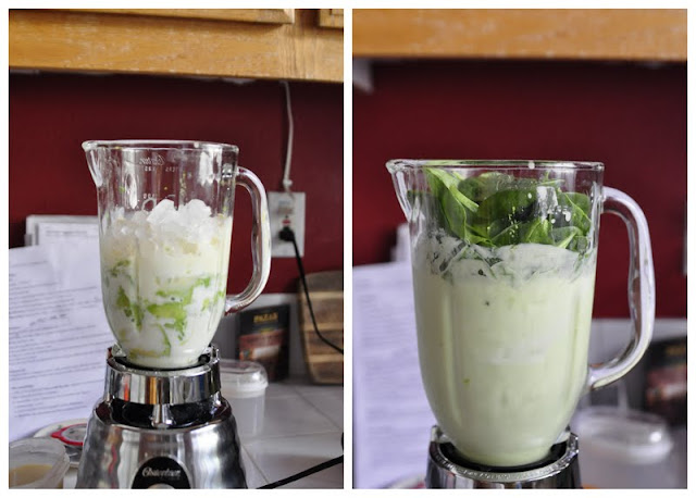 Avocado Spinach Smoothies