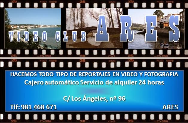 Video Club Ares, colaborador coa A.D.R. Numancia de Ares.