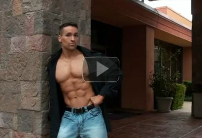 Bodybuilder Michael Dameron Outdoor Photoshoot