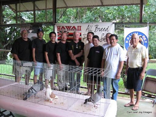 Hawaii all breed team for Waimanalo feed supply