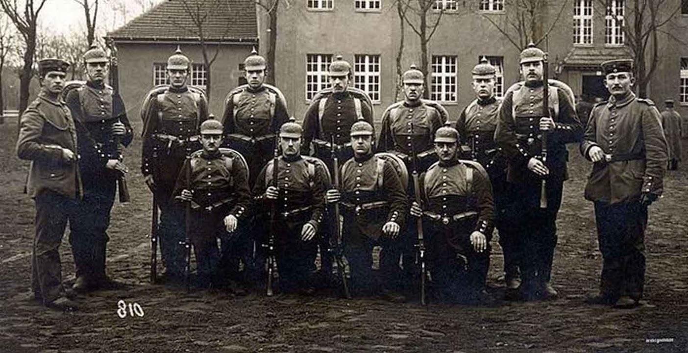 Солдаты Германии