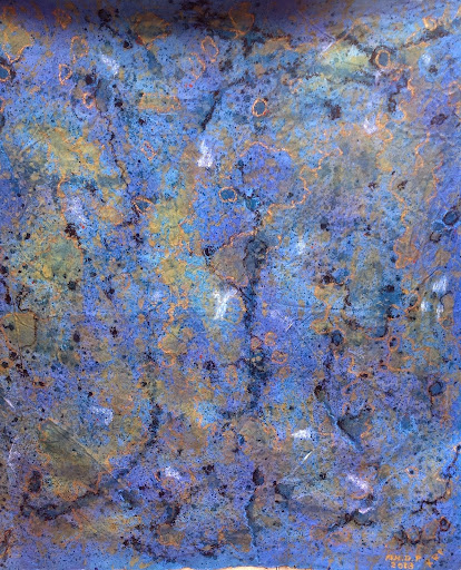 Ocean Artists. Acrylic on Cancas 178x169.5cm. The Third Artist AHdP/KRF