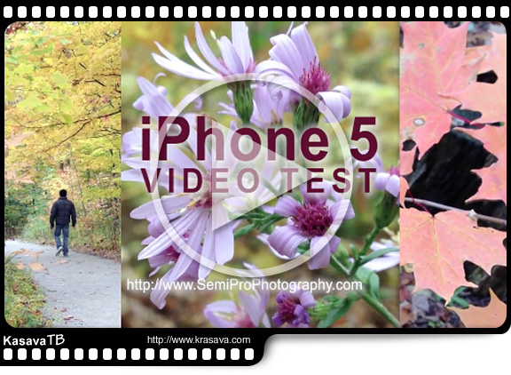 Проба Видео Камеры на iPhone5