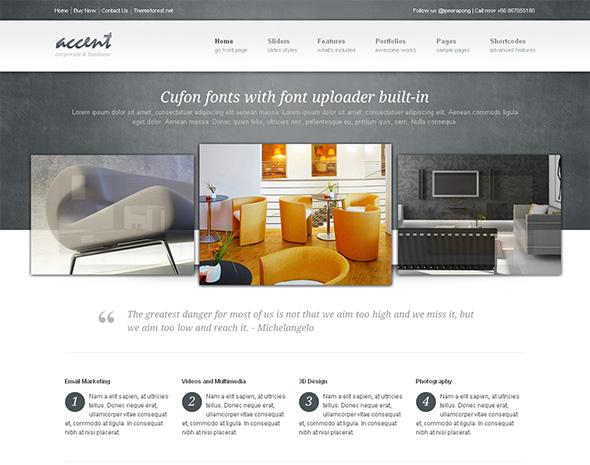 Accent Flexible WordPress Theme