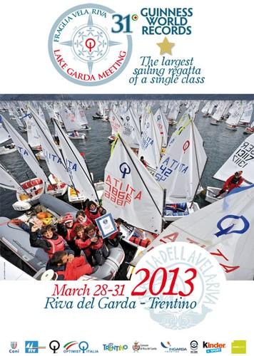 Optimist compétition voile italie Lac_de_Garde 31ème 2013