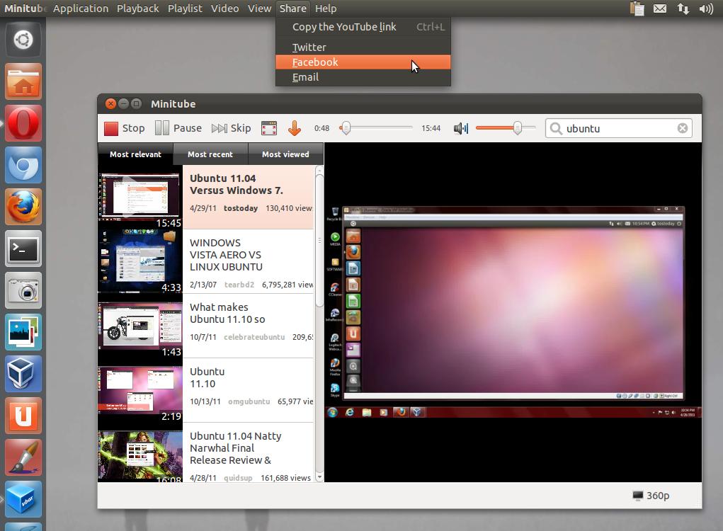 Minitube 1.6 Released, PPA Installation - TuxGarage