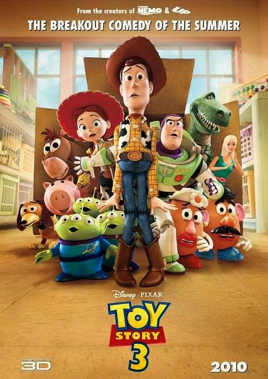 Poster Of Toy Story 3 (2010) Full Movie Hindi Dubbed Free Download Watch Online At Alldownloads4u.Com